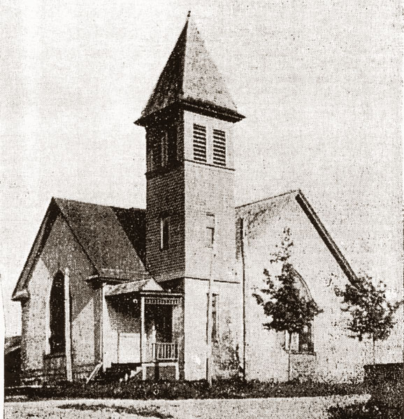 Gaines Church 1899