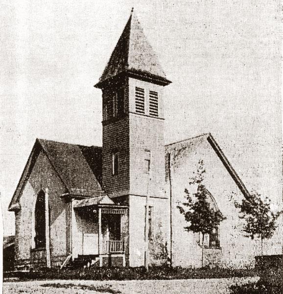 Gaines Church 1899
